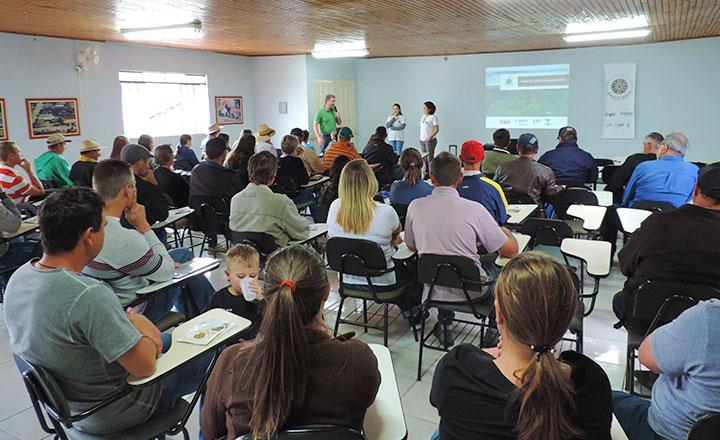 Mobilização em Paulo Frontin